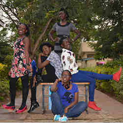 This team of girls from Kisumu, Kenya will compete Aug. 7-11 in the Technovation World Pitch Summit.