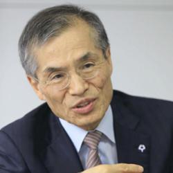 Osaka University president Shojiro Nishio.