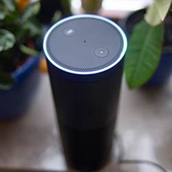 Amazon's Alexa digital assistant.