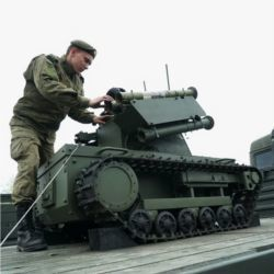Russian Platforma-M robotic system