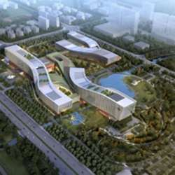 ??Artist's impression of The National Laboratory for Quantum Information Science in Hefei, China.