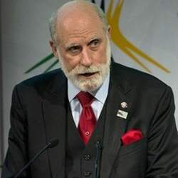 Vint Cerf, former ACM president and co-founder of the Internet Society.