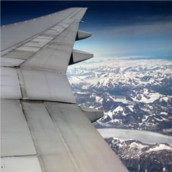 Conventional airplane wing