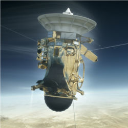 Cassini plunge into Saturn