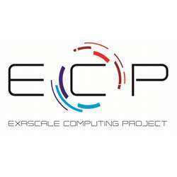 Logo of the Exascale Computing Project.