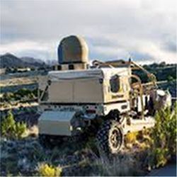 Mobile high-energy laser weapon
