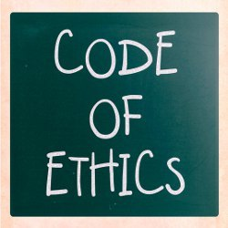 code of ethics, illustration