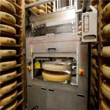 Cheesemaking robot, French Alps