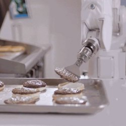 Flippy the robot flipping burgers
