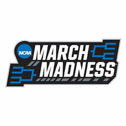 Logo of NCAA March Madness 2018.
