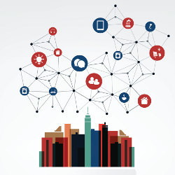 Building a Smart City, illustration
