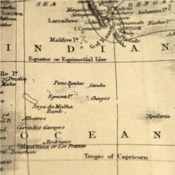 Map of Indian Ocean