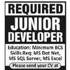 Dim Prospects for Junior Developers