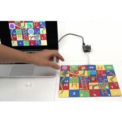 The new digital paper technology allows physical board games to be played on a computer.