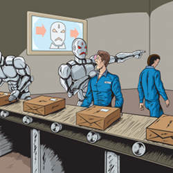 Workers increasingly fear being replaced by automation.