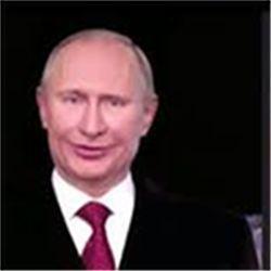Fake video Putin image