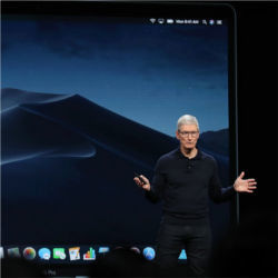 Tim Cook, Apple conference