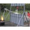 Firefighting Robot Snake Flies on Jets of Water
