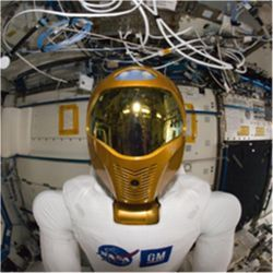 Robonaut 2 on ISS