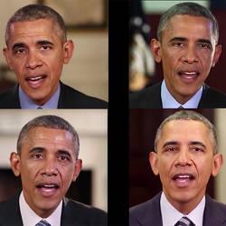 Deepfake videos of former U.S. president Barack Obama