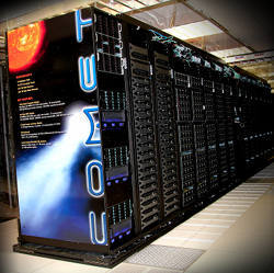 The Comet supercomputer.