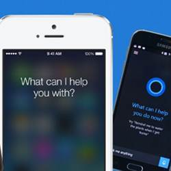 Smartphone-based Artificial Intellgence assistants.