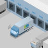 Autonomous Trucks for Logistics Centers