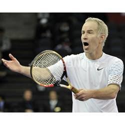 "Tennis great John McEnroe, whose catchphrase is ""you cannot be serious."""
