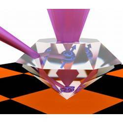 Small substitutions of atoms in their lattice of carbon atoms allow diamonds to serve as quantum repeaters.