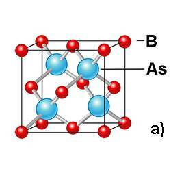 Structure of a boron arsenide crystal