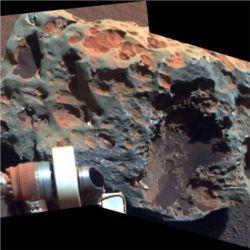 Block Island meteorite on Mars