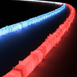 The new optical filter on a chip can process optical signals from across an extremely wide spectrum of light.