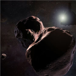 New Horizons passing by 2014 MU69, Kuiper Belt