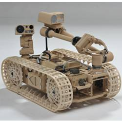 An Advanced Explosive Ordnance Disposal robot.