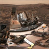 Curiosity Surveys a Mystery ­nder Dusty Skies