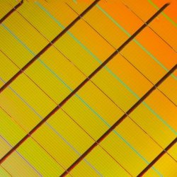 memory chip wafer