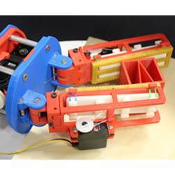 The gripper developed in Yale's GRAB lab with variable friction.