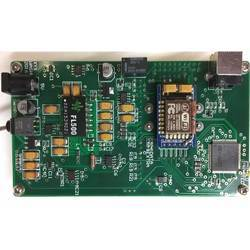The mainboard of the wireless WGM sensing system.