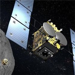 Hayabusa2 at Ryugu asteroid