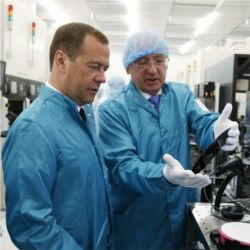 Dmitry Medvedev, microchips