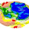 ESA's Gravity-Mapper Reveals Relics of Ancient Continents Under Antarctic Ice