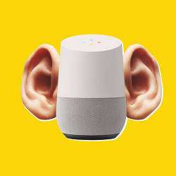 Users can't always tell when smart speakers/assistants are listening.