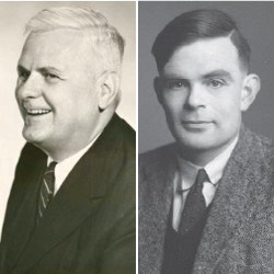 Alonzo Church and Alan M. Turing