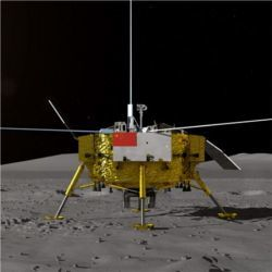 China's Chang'e-4 lunar probe