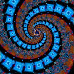 cosmic spiral, illustration