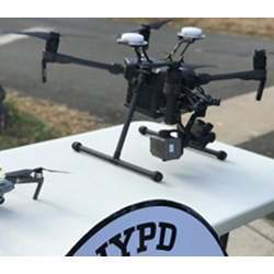 An NYPD drone.