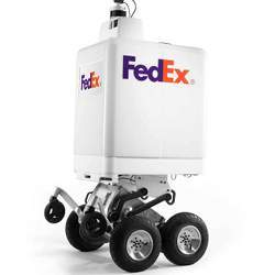 The FedEx delivery robot.