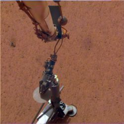 InSight lander heat probe