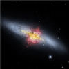 Galactic Wind Provides Clues to Evolution of Galaxies