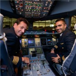 Pilots surrounded by automation